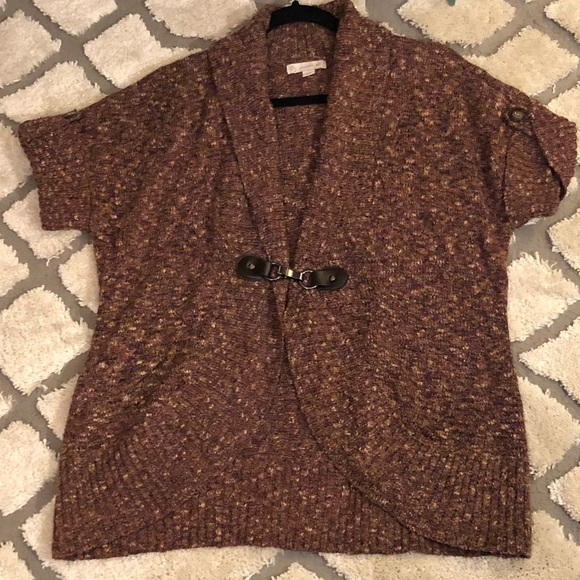 Dress barn short sleeve sweater